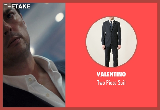 Valentino black suit from The Loft seen with Karl Urban (Vincent Stevens)