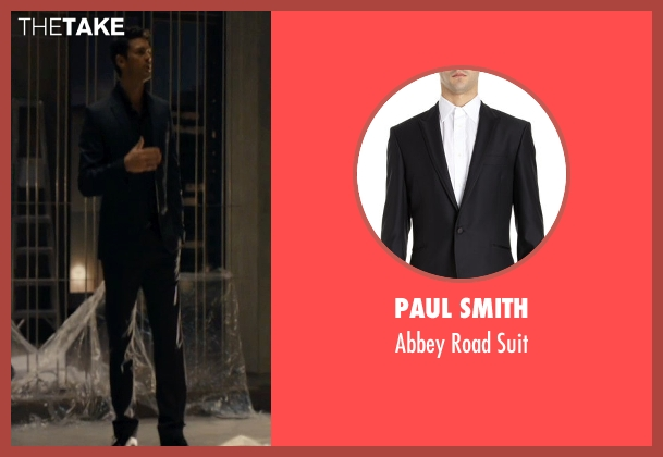 Paul Smith black suit from The Loft seen with Karl Urban (Vincent Stevens)