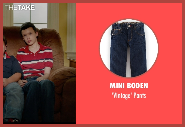 Mini Boden blue pants from Masterminds seen with Karsten Friske (Cort Chambers)