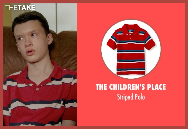The Children's Place red polo from Masterminds seen with Karsten Friske (Cort Chambers)