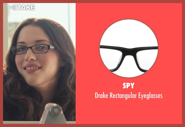 Spy black eyeglasses from Thor seen with Kat Dennings (Darcy Lewis)