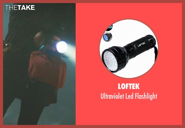 Loftek black flashlight from Thor seen with Kat Dennings (Darcy Lewis)