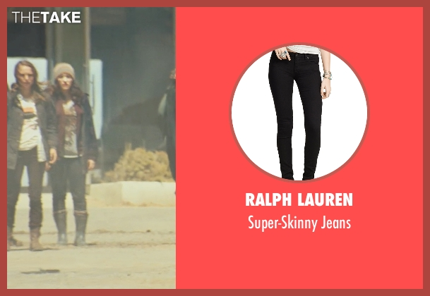 Ralph Lauren black jeans from Thor seen with Kat Dennings (Darcy Lewis)