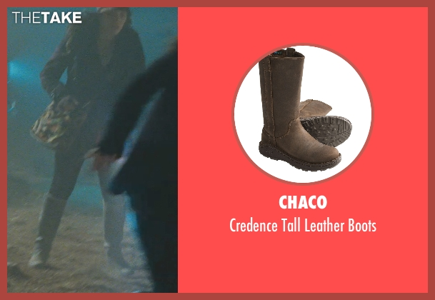 Chaco brown boots from Thor seen with Kat Dennings (Darcy Lewis)
