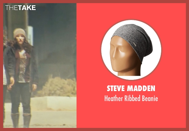 Steve Madden gray beanie from Thor seen with Kat Dennings (Darcy Lewis)