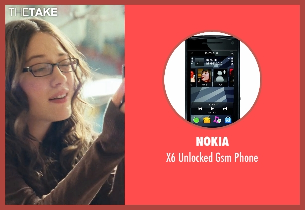 Nokia phone from Thor seen with Kat Dennings (Darcy Lewis)