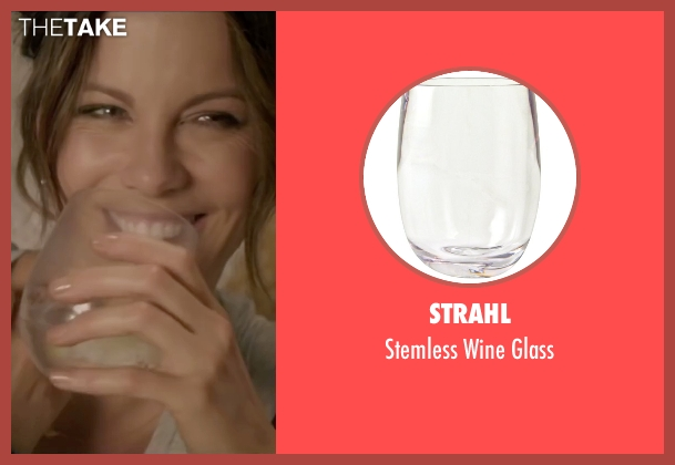 Strahl glass from Absolutely Anything seen with Kate Beckinsale (Catherine)