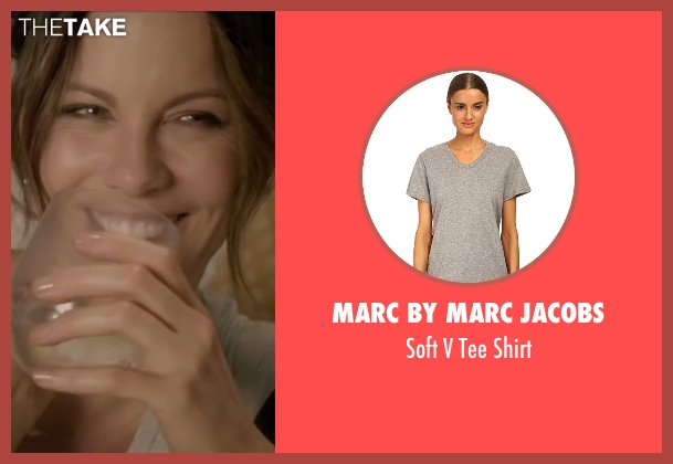 Marc By Marc Jacobs gray shirt from Absolutely Anything seen with Kate Beckinsale (Catherine)