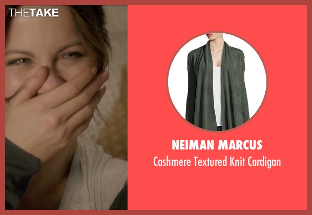 Neiman Marcus green cardigan from Absolutely Anything seen with Kate Beckinsale (Catherine)