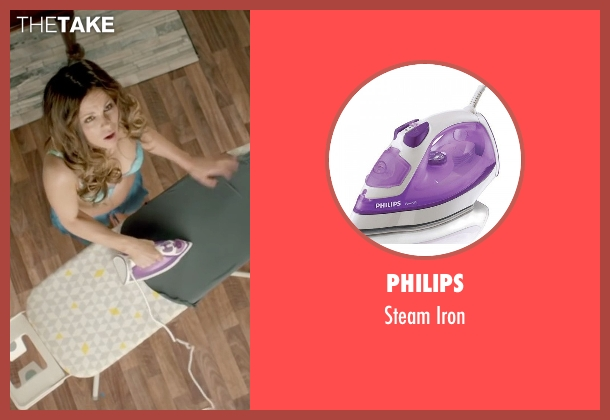 Philips iron from Absolutely Anything seen with Kate Beckinsale (Catherine)