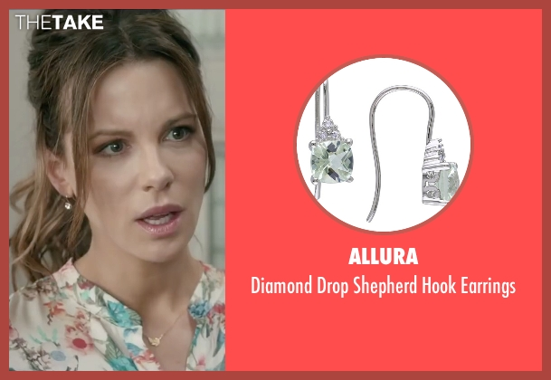 Allura silver earrings from Absolutely Anything seen with Kate Beckinsale (Catherine)