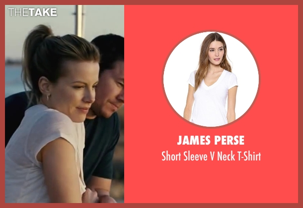 James Perse white t-shirt from Contraband seen with Kate Beckinsale (Kate Farraday)