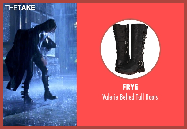 Frye black boots from Underworld seen with Kate Beckinsale (Selene)