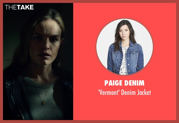 Paige Denim blue jacket from Before I Wake seen with Kate Bosworth (Jessie)