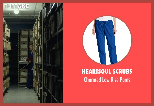 Heartsoul Scrubs blue pants from Before I Wake seen with Kate Bosworth (Jessie)