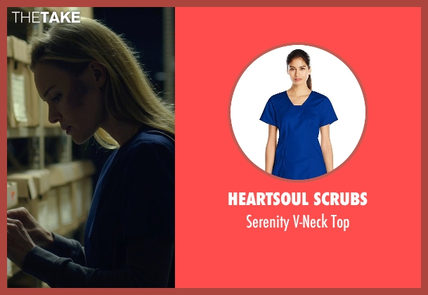 Heartsoul Scrubs blue top from Before I Wake seen with Kate Bosworth (Jessie)