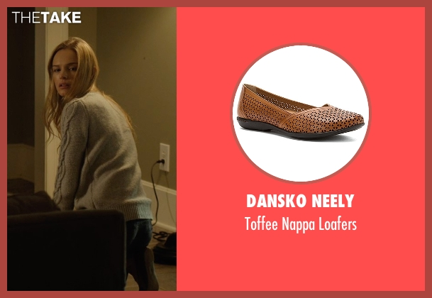 Dansko Neely brown loafers from Before I Wake seen with Kate Bosworth (Jessie)