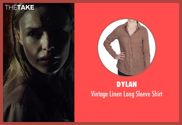 Dylan brown shirt from Before I Wake seen with Kate Bosworth (Jessie)