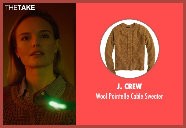 J. Crew brown sweater from Before I Wake seen with Kate Bosworth (Jessie)