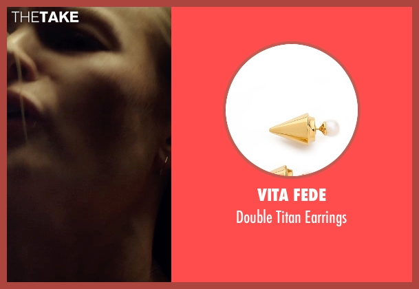 Vita Fede gold earrings from Before I Wake seen with Kate Bosworth (Jessie)