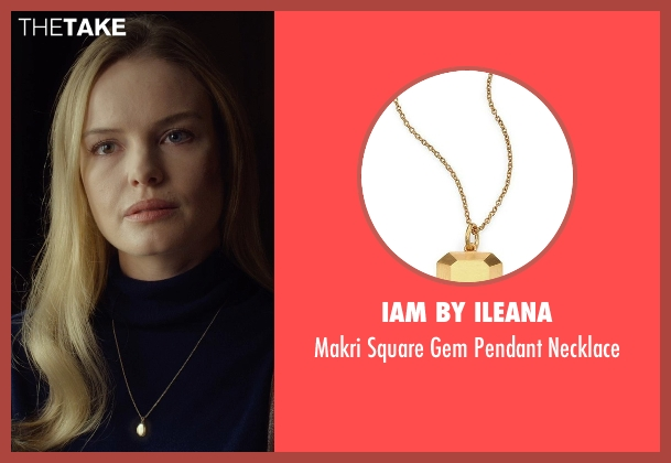 IAM by Ileana gold necklace from Before I Wake seen with Kate Bosworth (Jessie)