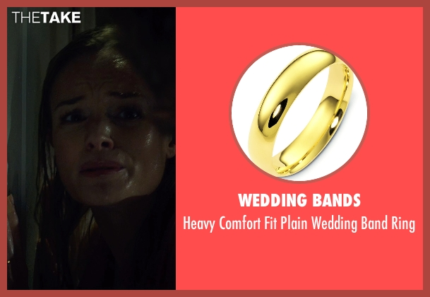 Wedding Bands gold ring from Before I Wake seen with Kate Bosworth (Jessie)
