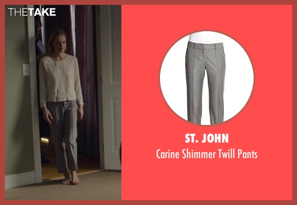 St. John gray pants from Before I Wake seen with Kate Bosworth (Jessie)
