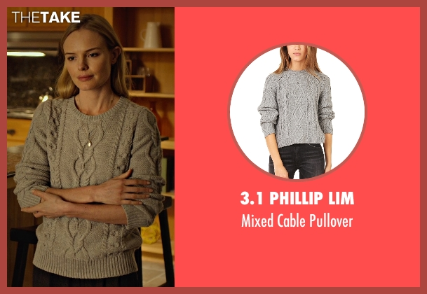 3.1 Phillip Lim gray pullover from Before I Wake seen with Kate Bosworth (Jessie)