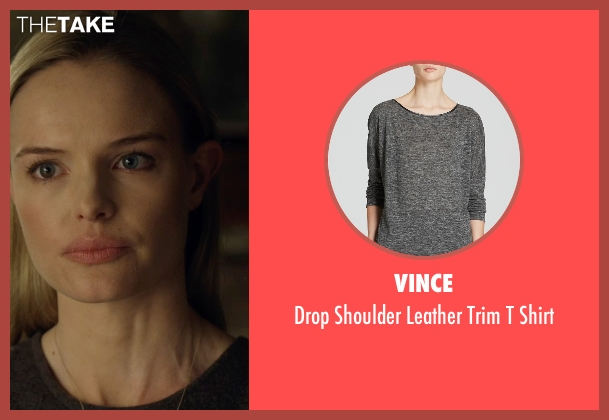 Vince gray shirt from Before I Wake seen with Kate Bosworth (Jessie)