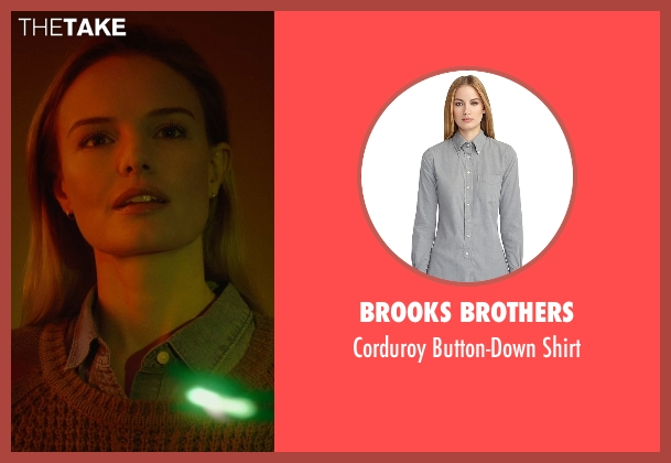 Brooks Brothers gray shirt from Before I Wake seen with Kate Bosworth (Jessie)