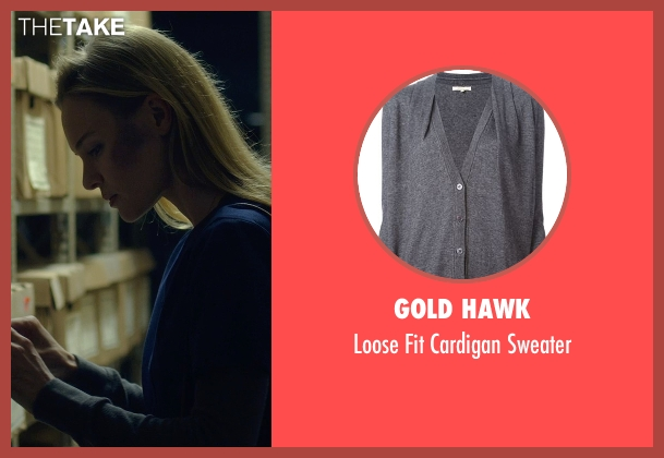 Gold Hawk gray sweater from Before I Wake seen with Kate Bosworth (Jessie)