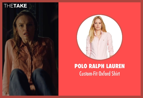 Polo Ralph Lauren pink shirt from Before I Wake seen with Kate Bosworth (Jessie)