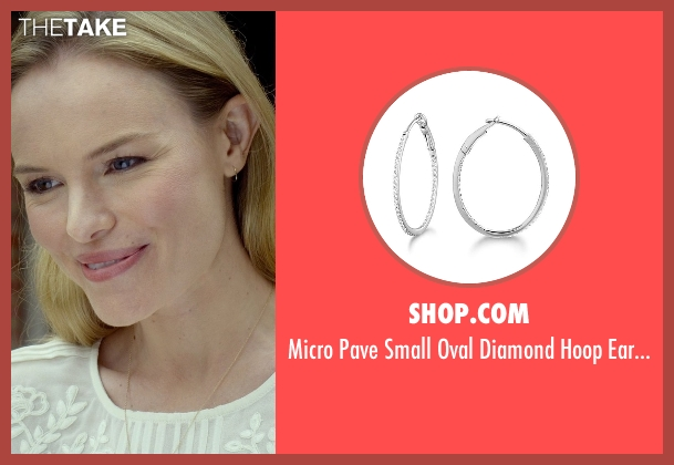 Shop.com silver earrings from Before I Wake seen with Kate Bosworth (Jessie)