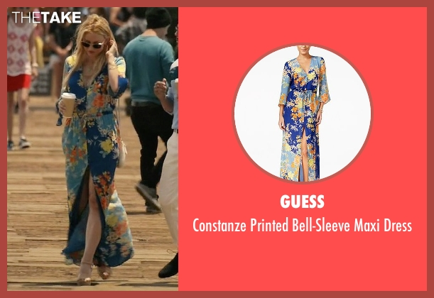Guess blue dress from Mistresses seen with Kate Davis (Tabrett Bethell)