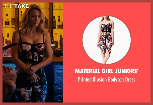 Material Girl Juniors' dress from Mistresses seen with Kate Davis (Tabrett Bethell)