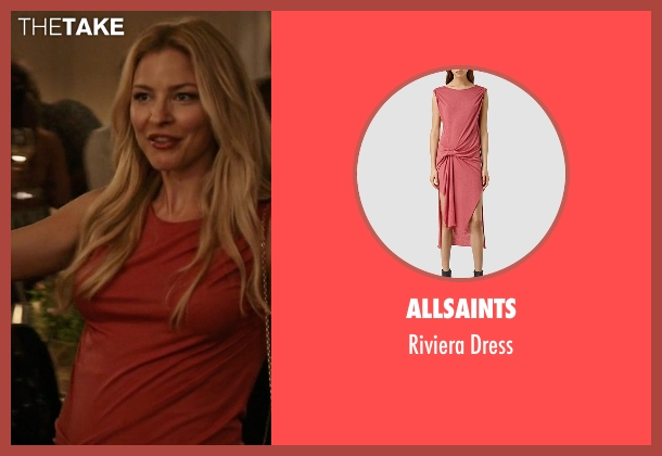 AllSaints pink dress from Mistresses seen with Kate Davis (Tabrett Bethell)