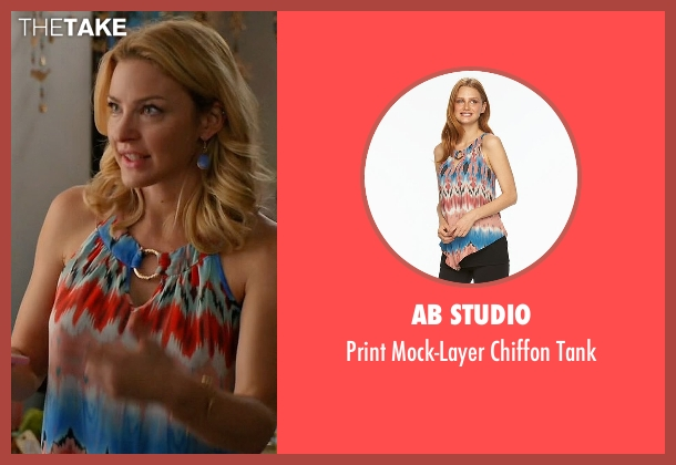 AB Studio tank from Mistresses seen with Kate Davis (Tabrett Bethell)