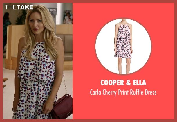 Cooper & Ella white dress from Mistresses seen with Kate Davis (Tabrett Bethell)