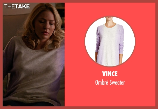Vince white sweater from Mistresses seen with Kate Davis (Tabrett Bethell)
