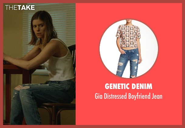 Genetic Denim blue jean from Captive seen with Kate Mara (Ashley Smith)