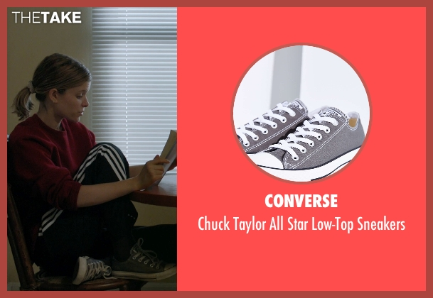 Converse gray sneakers from Captive seen with Kate Mara (Ashley Smith)