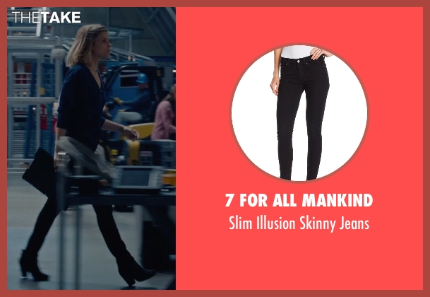 7 For All Mankind black jeans from Fantastic Four seen with Kate Mara (Sue Storm / The Invisible Woman)