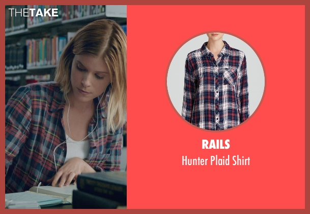 Rails blue shirt from Fantastic Four seen with Kate Mara (Sue Storm / The Invisible Woman)