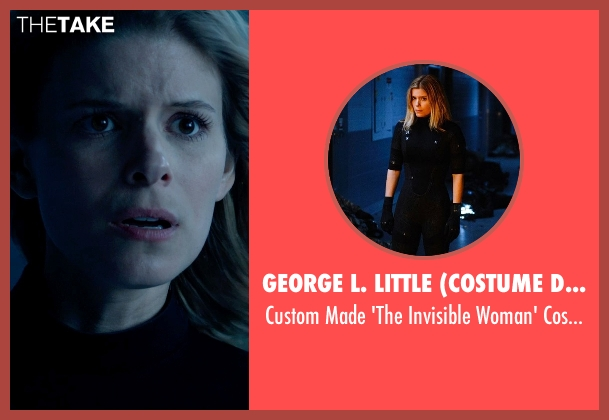 George L. Little (Costume Designer) costume from Fantastic Four seen with Kate Mara (Sue Storm / The Invisible Woman)