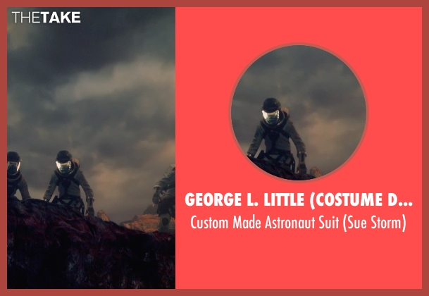 George L. Little (Costume Designer) suit from Fantastic Four seen with Kate Mara (Sue Storm / The Invisible Woman)