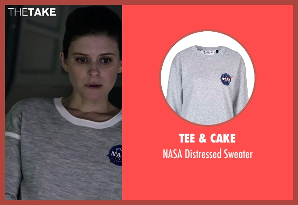 Alo Yoga gray top from The Martian seen with Kate Mara (Beth Johanssen)
