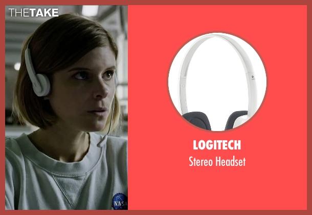 Logitech headset from The Martian seen with Kate Mara (Beth Johanssen)