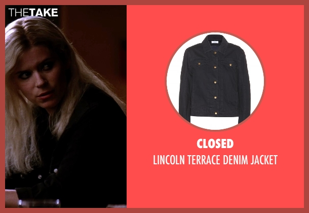 Closed black jacket from Transcendence seen with Kate Mara (Bree)