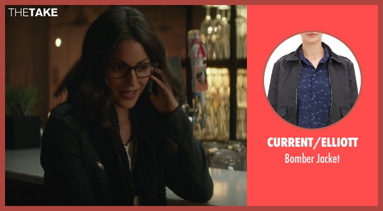 Current/Elliott black jacket from That Awkward Moment seen with Kate Simses (Glasses)