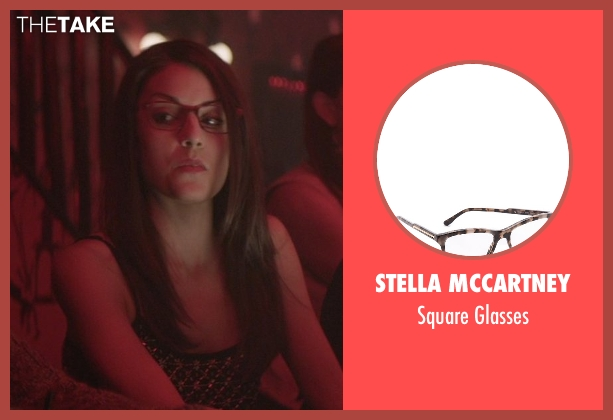 Stella McCartney brown glasses from That Awkward Moment seen with Kate Simses (Glasses)
